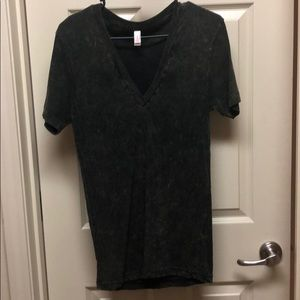 American Apparel Small V Neck